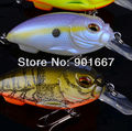 8pc/Lot Top Quality Exported to Japan Market 8 colors fishing lures fishing bait fishing hard bait with retail box Free Ship