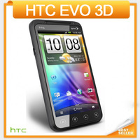 "Original HTC EVO 3D G17 Mobile phone 4.3""Touch Screen 3G GPS WIFI Camera 5MP Multi-language EMS DHL Free shipping"