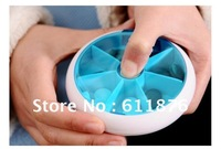 2012 new Free Shipping Novelty Travel Tablet Pill Medicine Storage Case box holder container mix three color easy to carry