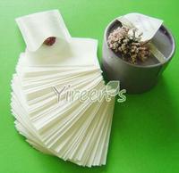 Hot sale! Now Discount! 1000pcs/lot  Heat sealing tea bag 60 X 80mm empty tea bag, filter paper, clean filter bag