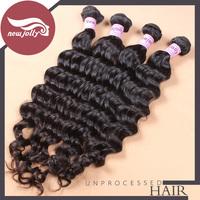 Unprocessed virgin hair natural wave 100% Malaysia human hair 4pcs/lot human hair weaves mixed length 12''-26'' inch