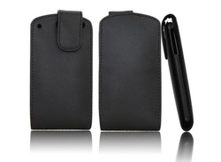 Free shipping filp leather case for HUAWEI IDEOS X5 U8800 case with free screen protection(China (Mainland))