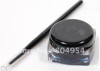 Waterproof black eyeliner gel with brush Fluidline Make-up eyeliner