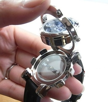 CF compass watches, CS skeleton head wrist, birthday gift