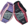 High quality newest heart rate watch with Calorie,35laps stop watch,training level