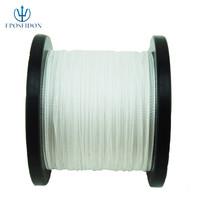 No.1 Quality&Service 4 Strand White Color 500M Japan Multifilament Super Strong 100% PE Braid Fishing Line 27LB