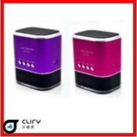 BEST PRICE!Portable Mini Mobile Speaker with USB/TF card reader FM radio MP3 Player sound box for iPod/Laptop/PC- FREE SHIPPING