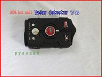 Russian /English Language  conqueror 360 radar V8 GPS radar detector with Retail packaging