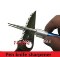 Freeshipping 1pc Professional Sharpening Diamond Multi-purpose Pen shape Knife Sharpener Grinstone Fishing Hook Sharpner