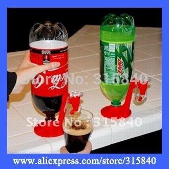 4pcs New 2015 Soft Drink Gadget Beverage Dispenser Switch Cool Fizz Saver Dispenser For Drinking As Seen On TV -- MTV30 PA44