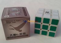 wholesale 10pcs/lot Dayan 4 Lunhui 3x3 speed cube 5.6cm magic cube twist puzzle educational toys +Free Shipping
