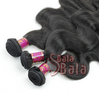 Mix length 3pcs/lot queen hair product virgin human hair body wave brazilian hair weave + DHL free