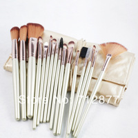 Professional Make Up Brushes 16pcs/Set  With Golden Pouch Case High Quality Makeup Tools Kit
