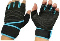 high quality Fitness sports gym gloves multifunction Durable Non-slip with long Wrist protection exercise Riding driving