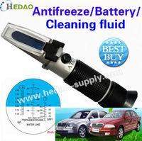 2012 hot sale!! antifreeze tester refractometer for car  battery refractometer