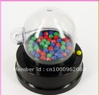 Portable Lottery Machine Mini manual operation shake lucky ball/ lucky Number /lect award