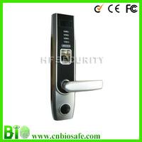 High Security Fingerprint Door Lock with Deadbolt, OLED Display+USB Interface HF-LA501