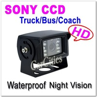 SONY CCD parking camera for Truck,Wired vehicle rearview/parking camera for Bus/Coach,Shockproof Night  version Waterproof