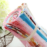 "Super Deal! 50 pieces/lot Mixed Shabby Chic Cotton Cloth The Beautiful Patchwork Fabric Patterns  - 20x25cm/ 7.9""x9.8"""