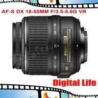 Nikon AF-S DX 18-55mm F/3.5-5.6G VR Lens for Nikon DSLR Digital Camera