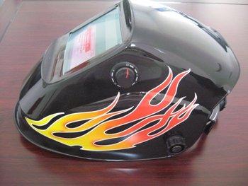 Welding Helmet Autodark/Adjustable Mask Print Solar Auto Darkening Shield Welding Cap(din4/9-13), CE approved