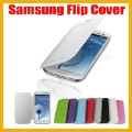 NEW High Quality PU Leather case Pouch Slim side Flip Cover for Samsung galaxy S3 SIII I9300 Folding + Screen Portector