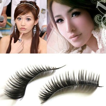 Merry Christmas! 10 Pairs / set, Natural False Eyelashes Extensions Makeup Eye Lashes Black JHB-189