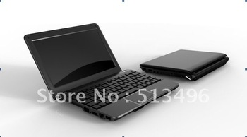 10.1 inch N2600 dual core with 6 cell battery and camera netbook