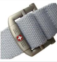 Fashion Canvas Premium S Shape Metal Mens strap man Ceinture Buckle Belt men's belts 140cm Free shipping MB001-2