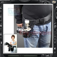 Professional Pro DSLR Camera  SlipLock Holster holder carrier With belt as Spider Widow pb036