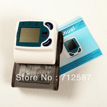 Digital Wrist Blood Pressure Monitor and Heart Beat Meter#8276