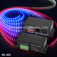 DMX512 Signal Decoder LED IC signal decoder WS2811,TM1804,TM1809,TM1812 driving IC,DC5V-24V input DMX Decoder