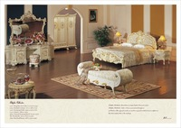 royal luxury bedroom furniture - bedroom furniture    Free shipping