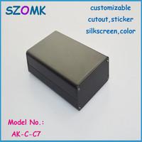 10 pcs a lot  aluminum extrusion enclosure for electronics 20x50x80mm    Aluminum box , electronics aluminum case housing