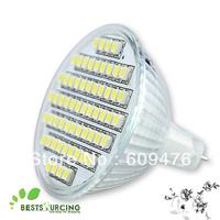 Free Shipping 2pcs/lot 4W 240V MR16 SMD 60 LED warm white/ day white bulbs lamp