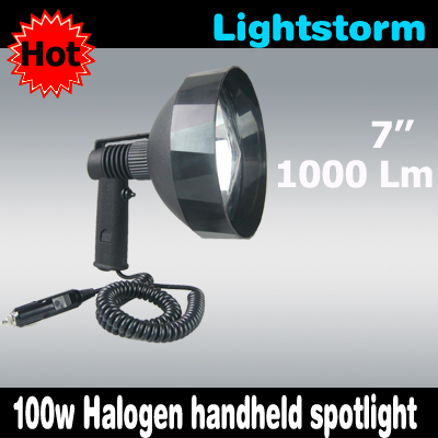100w halogen 175mm reflector,portable lanterns portable lighting,spotlight 175mm/7'' camping lamp portable(China (Mainland))