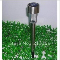 Free Shipping for solar light Lawn Light,Solar lighting, solar garden lamp, steel stainless Hot!