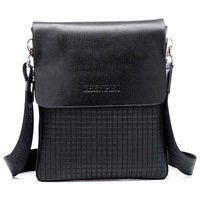 2013 Wholesale good quality hot selling men shoulder bag,black,brown,1 pc free shipping(30625)