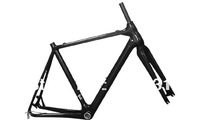 Top sales EN standard 3K matt Finish/ BB86/Inner Cable System size 52cm  Carbon cyclocross bike frame +fork+headset MC098