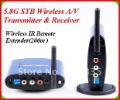 5.8GHz  IR Remote Extender 200m wireless sharing of HD A/V Sender and Receiver PAT530