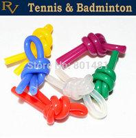Free Shipping - Tennis racquet / racket vibration dampener ,shock absorber ,Agassi dampener knot