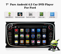 2 Din Car Head Unit GPS MP3 CD DVD Player Ipod 1Ghz Android 4.1 OBD WIFI 3G F/Ford Mondeo S-Max Focus Galaxy