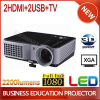 High quality 2200lumens Native 800X600 LED Home Theater Education Projector,Led LCD Projector