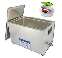 Free shipping! Skymen 30L industrial ultrasonic cleaner with digital timer&heater