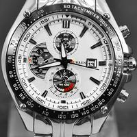 2014 Curren Dial Water Men Quartz Hours Date Silver Hand Sport Men Steel Wrist Watch top brand Mens watches Free shipping M928W