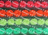 Free DHL/EMS 45y 2.5 chic shabby chiffon rose flowers for headbands girls hair accessories 56 stock colors for selection