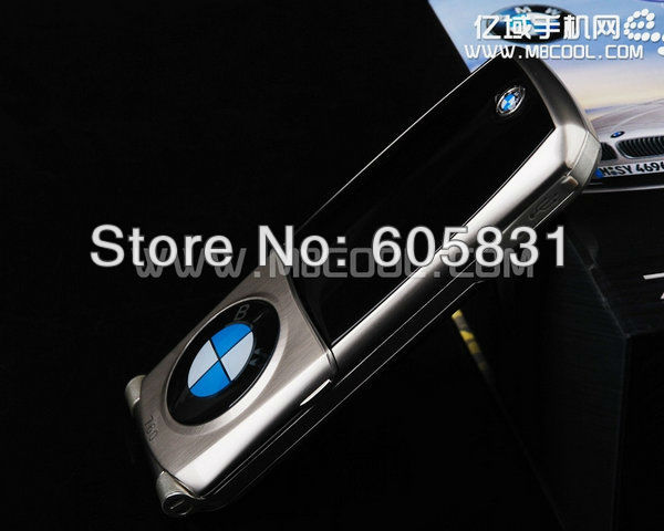 2012 hot sale luxury car phone Limted Edition silver Unlocked Mobile PHONE Russian keyboard cell phone Dual SIM Free shipping(China (Mainland))