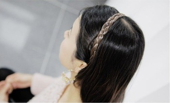 Fashion Hair jewelry Women pigtail hair bands \ braids T6302