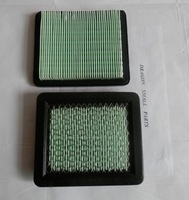2X AIR FILTER FOR HONDA GX100 GC135 GC160 GC190 GCV135 GCV160 GS190 GSV190 GXV57 F220 FREE SHIPPING  AIR CLEANER # 17211-ZL8-023