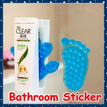 [FORREST SHOP] High Quality Novelty Home Product Double Side Suction Magic Plastic Sucker For Bathroom (10 pieces/lot) FRH-4